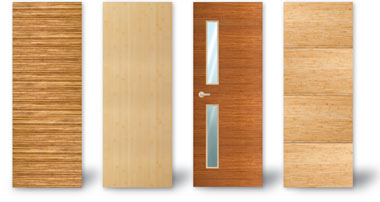 Flush Bamboo Doors
